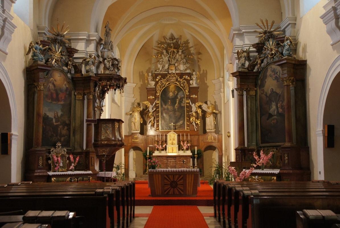 kostel z roku 1714