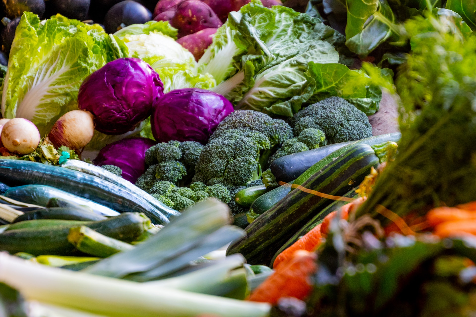 Zelenina - vegetariánství