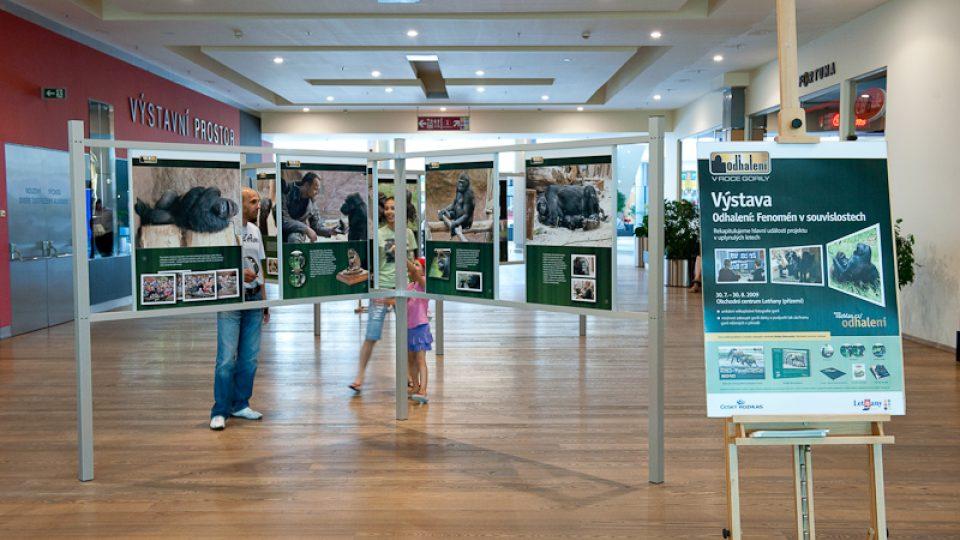 Výstava Odhalení v OC Letňany
