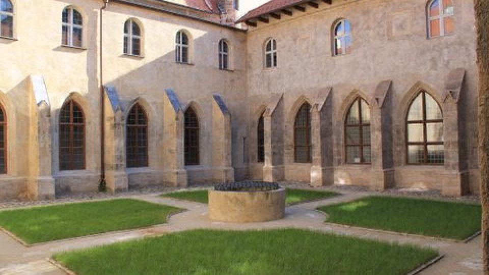 Dvůr Muzea církevního umění plzeňské diecéze