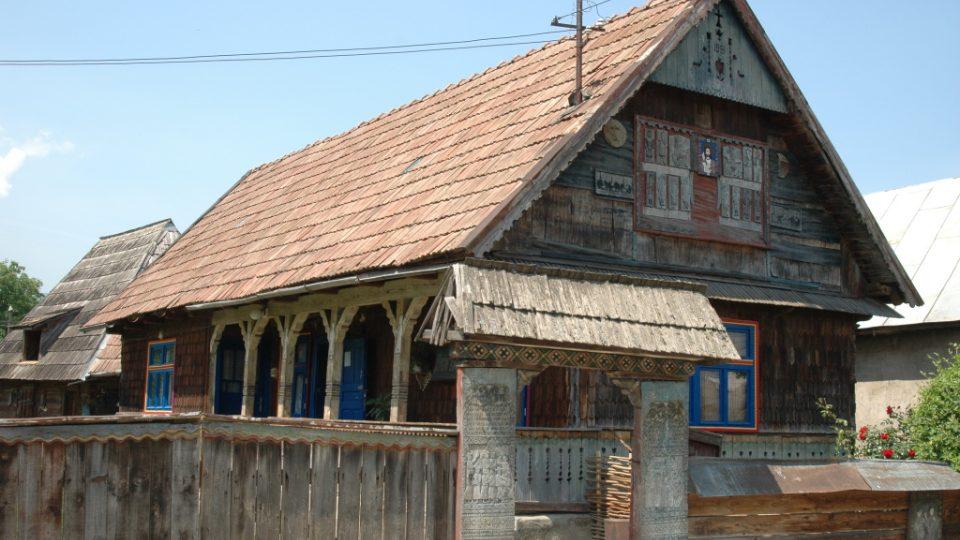 Pamětní dům Iona Stana Pătraşe, tvůrce Veselého hřbitova