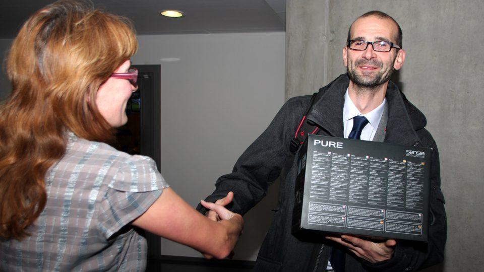 Robert Drozda je první, kdo v projektu Česko 2023 dostal odměnu