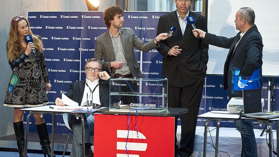 Česko 2023: Slavnostní zakončení projektu, Miloš Čermák (vprostřed)