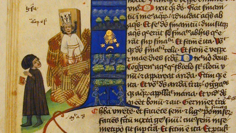 Nejstarší známé vyobrazení Jana Husa je iluminace v Martinické bibli