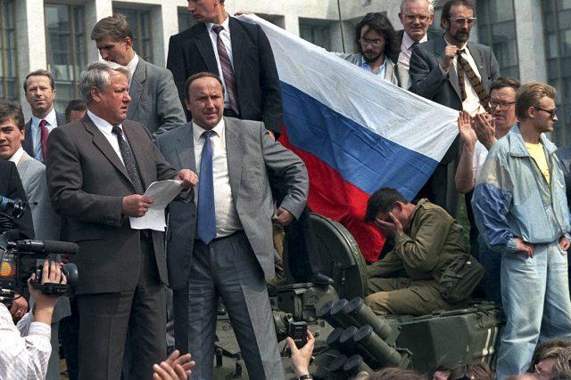 Před 25 lety se v tehdejším Sovětském svazu odehrál pokus o státní převrat | foto: ČTK