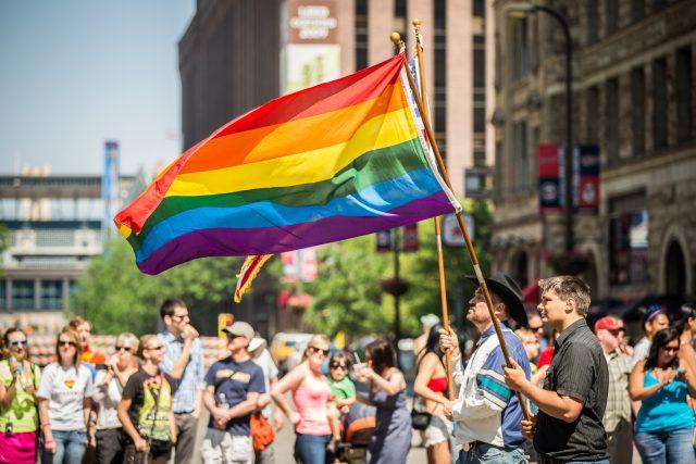 LGBT vlajka | foto: Attribution 2.0 Generic  (CC BY 2.0)  (CC BY 2.0),  Tony Webster