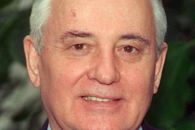 Michail Gorbačov  (18 September 1996) | foto: Fotobanka Profimedia