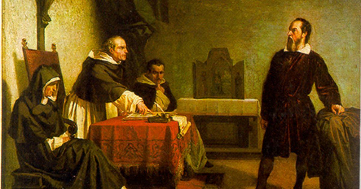 Resultado de imagem para catholic church galileo
